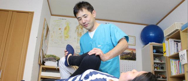 骨盤矯正や整体による(br)ボディケア