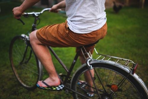 自転車ダイエットでついでにヒップアップもする方法〜その1
