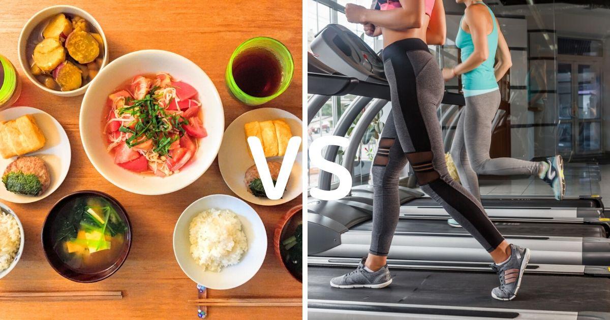 ダイエットの成否を分ける!食事でやせる vs 運動でやせる、どちらを選ぶ?
