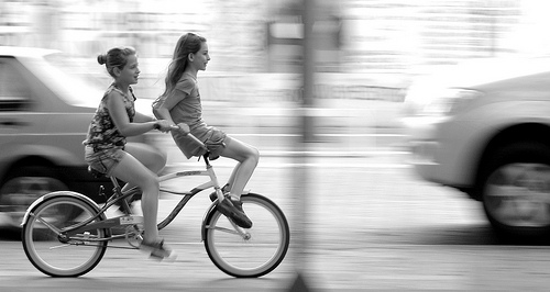 自転車ダイエットでついでにヒップアップもする方法〜その2